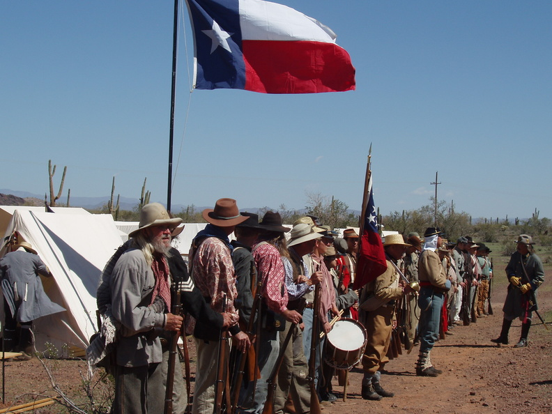 2014 Civil War Reenactment March 14 TX troops | NCS Photos